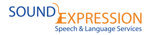 Sound Expression – Speech & Language Services Logo